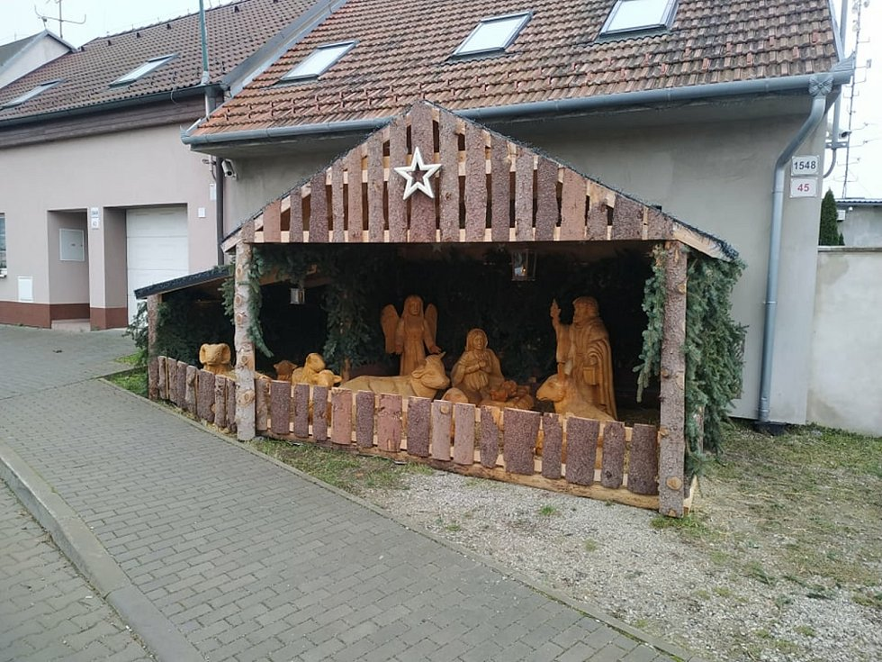 Betlém Víta Martince ve Staré Břeclavi.