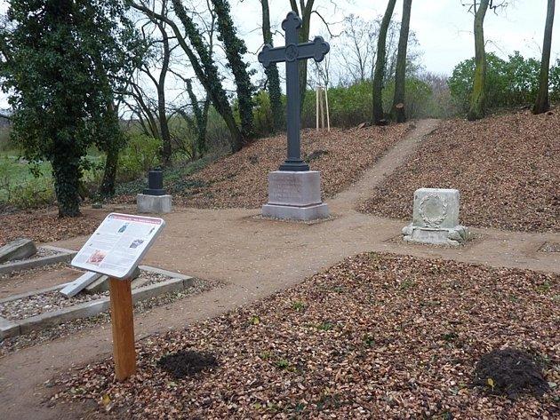 Hřbitov pruských vojáků v Mikulově. Ilustrační foto.