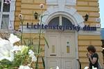 Lichtenštejnský dům lze najít v centru Břeclavi.