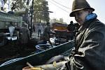 Slavnostní výlov Vrkoče pro veřejnost pořádají rybáři každoročně.
