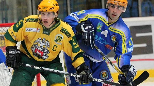 Břeclavští hokejisté nedovolili Valachům na Lapači skórovat.