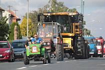 První ročník traktoriády přilákal do Kašnice čtyři stovky lidí.