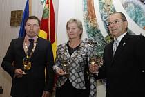 Do Velkých Bílovic dorazil na návštěvu starosta partnerského města Presidencia Roque Sáenz Peňa Gerardo Cipolini.