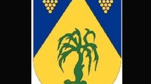 Znak Vrbice, která se loni stala vesnicí roku.