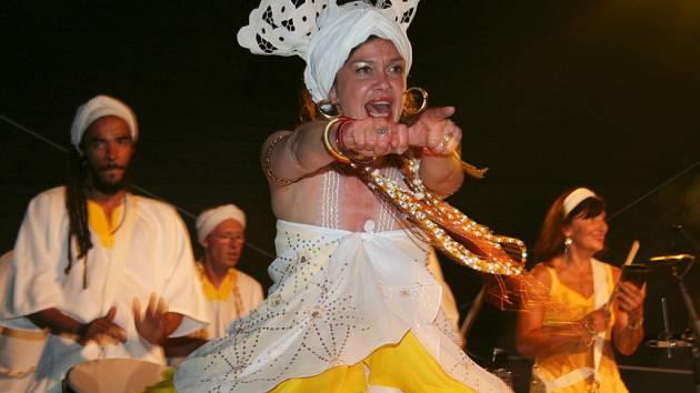 Hudební festival Hudba z podzámčí v Lednici.