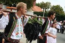 slavili vinobraní