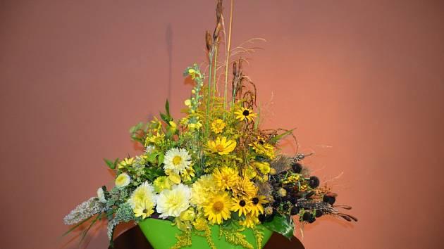 Studenti z Lednice předvedou aranžmá z květin