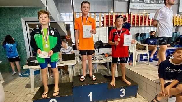 Mladí plavci z Delfína brali medaile