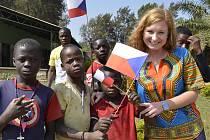 Klára Sobotková z Moravské Nové Vsi strávila rok jako dobrovolnice mezi dětmi v Konžské demokratické republice.