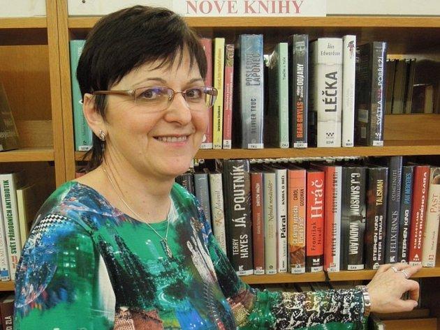 Jaroslava Bartošová pracovala v knihovně v Lanžhotě téměř pětatřicet let.