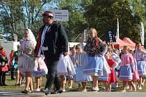 Svatováclavské slavnosti v Břeclavi. Ilustrační foto