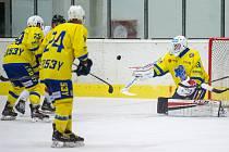 Břeclavští hokejisté v přípravě podlehli Uherskému Ostrohu 2:5.