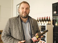 Ředitel drnholeckého Nového vinařství Petr Ptáček.