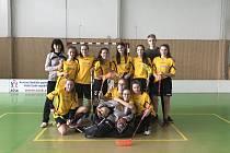 Mikulovské starší žákyně z gymnazia postoupili z kraje do republikového finále.