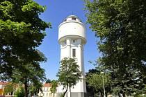 Vodárenská věž v Břeclavi.