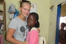 Klára Šrámková podporuje společně se svojí rodinou dvanáctiletou Grace z Afriky.