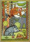 Alois Urbánek z Pasohlávek na Břeclavsku sbírá obrázky a pohlednice Josefa Lady. Má jich téměř tři tisíce.