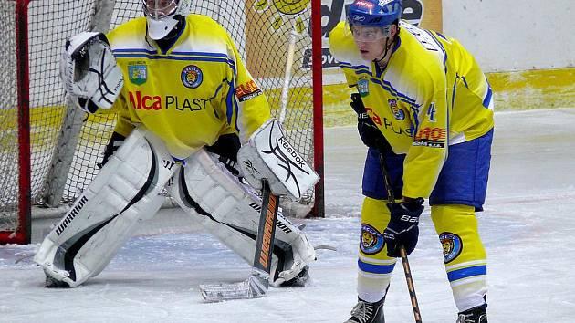 Hokejisté Břeclavi se po polovině soutěže drží na šestém místě tabulky.