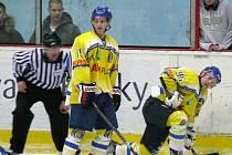 Hokejisté Břeclavi porazili Kolín díky brance v prodloužení.