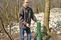 Vedoucí Správy CHKO Pálava Jiří Matuška.