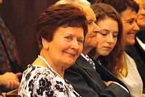 Alena Chalupová z boleradického divadla.
