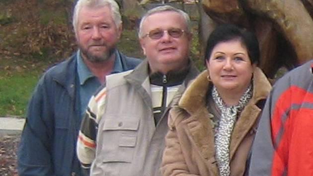 Starosta Klentnice Miroslav Musil (zcela vlevo).