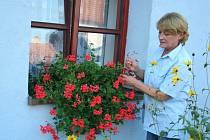 Spisovatelka Věra Fojtová dělí v Novosedlech na Břeclavsku svůj pracovní čas mezi stůl s notebookem, v němž se rodí její knihy, a zahradu plnou květin. Jak říká, zahradničení je pro ni tím nejlepším možným odpočinkem.
