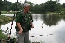 Rybáři ze Zaječí slavnostně otevřeli nový rybník.