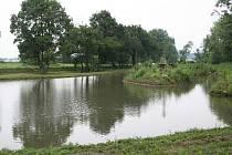 Rybník v Zaječí.
