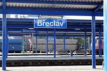 Břeclavské nádraží - ilustrační fotografie.