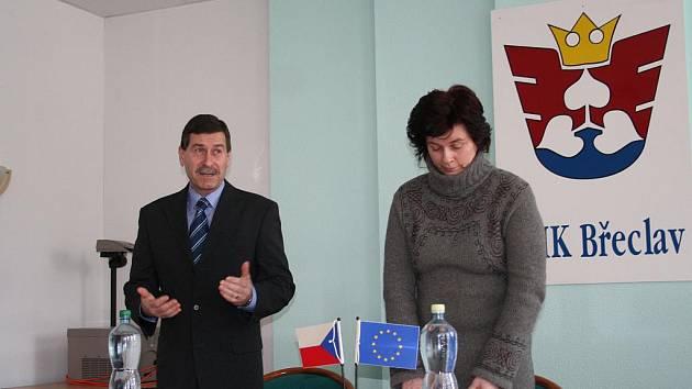 Na půdě Okresní hospodářské komory v Břeclavi