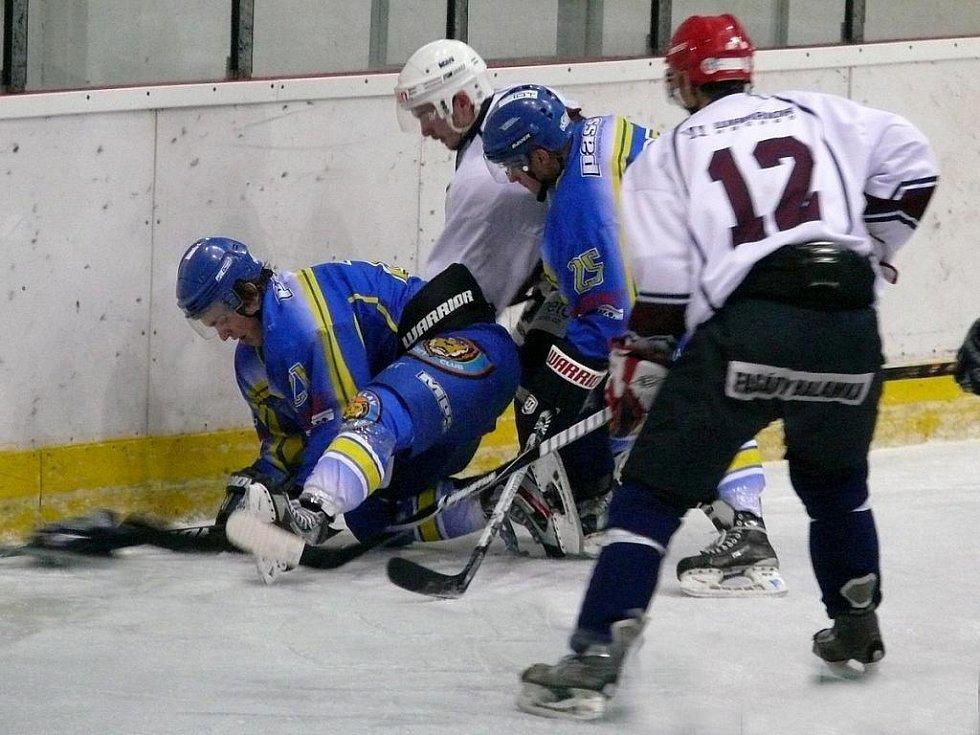 Břeclavský hokejista Ondřej Lechner.