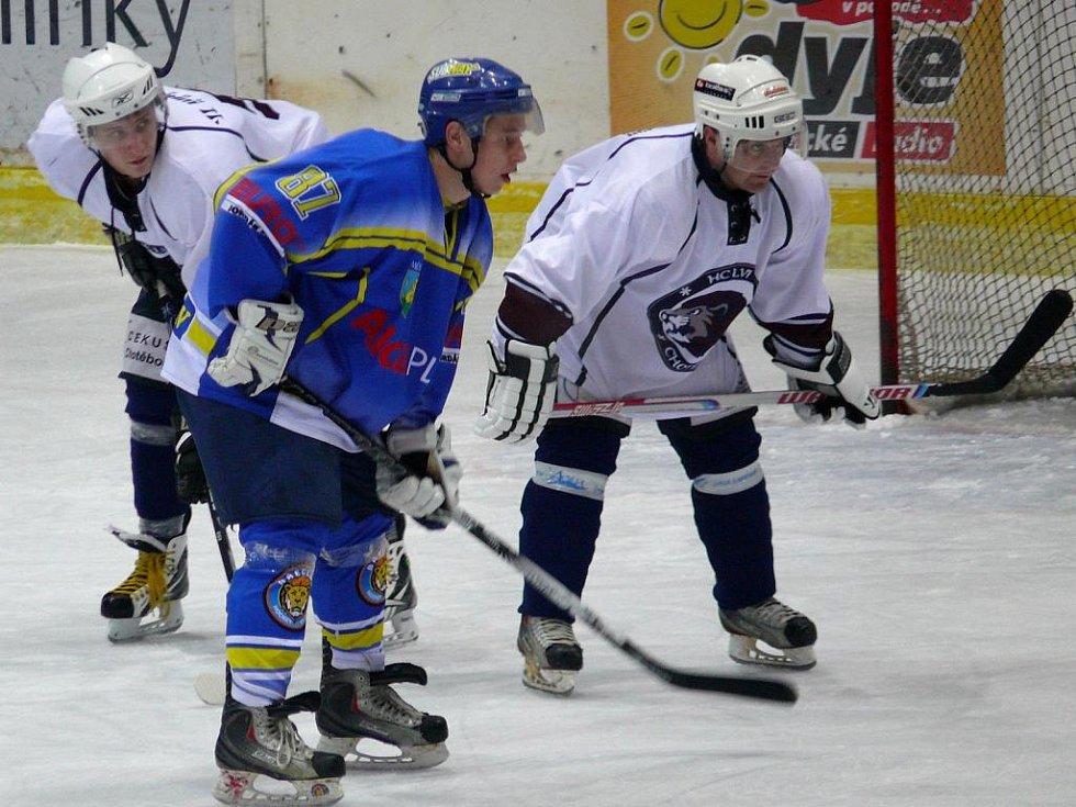 Břeclavský hokejista Radek Zháňal.
