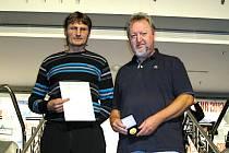 Zlepšovák Jaroslava Kučery z Moravské Nové Vsi (na snímku vlevo)ocenili na mezinárodním veletrhu v Norimberku zlatou medailí.