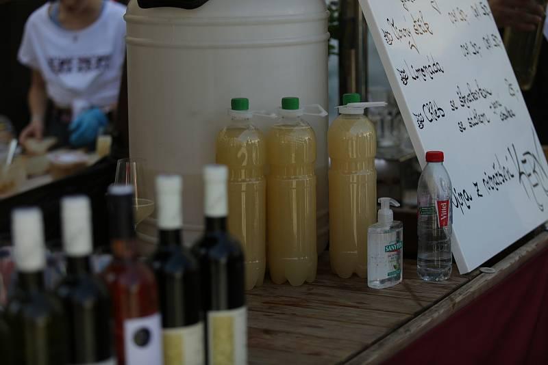 Pálavské vinobraní přilákalo tisíce návštěvníků.