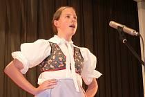 Lucie Kučerová z Mikulova, která získala v oblastním kole první místo, se v regionálním kole soutěže neumístila.
