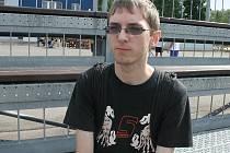 Mladý vynálezce – devatenáctiletý student Lukáš Kraicinger z břeclavské průmyslovky.
