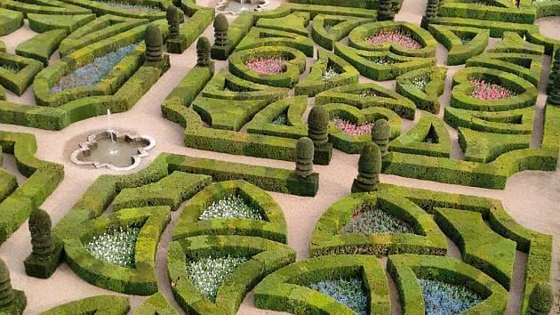 Cestovatelka přiblíží francouzské zahrady na Loiaře
