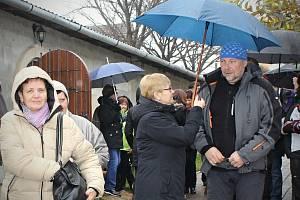 Další ročník Podzimní šlapky ve Velkých Pavlovicích provázel déšť. I tak se akce zúčastnily desítky nadšenců.