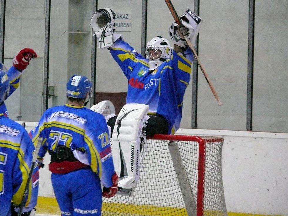 Hokejisté Břeclavi zvítězili nad Kutnou Horou.