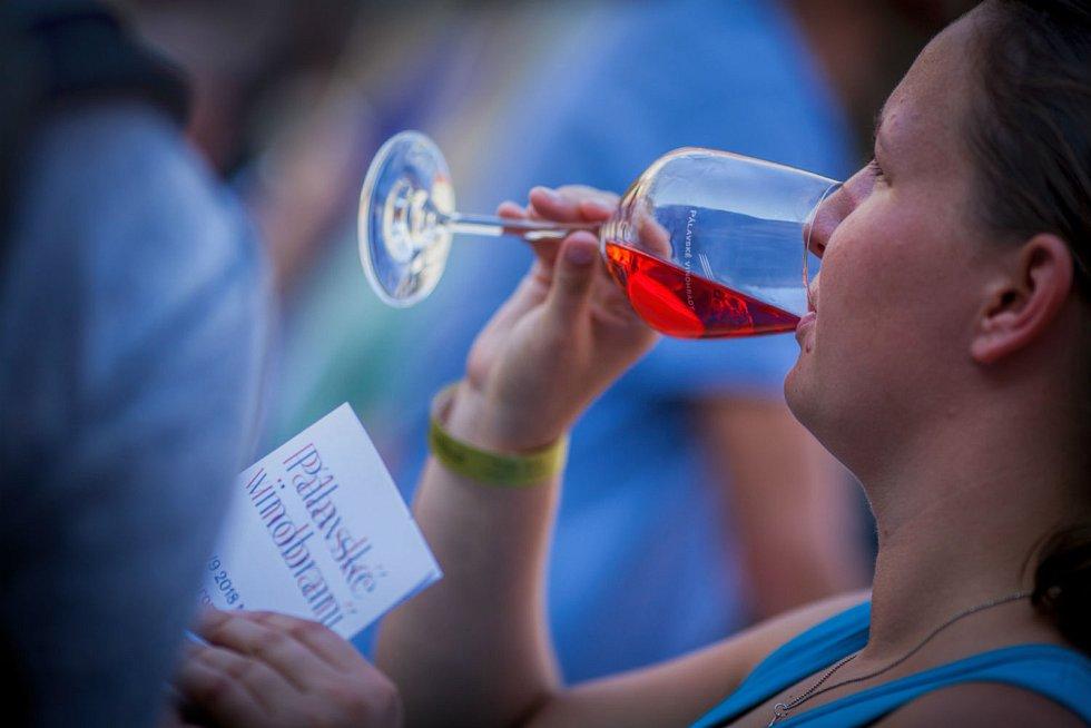 Pálavské vinobraní v Mikulově. Ilustrační foto.