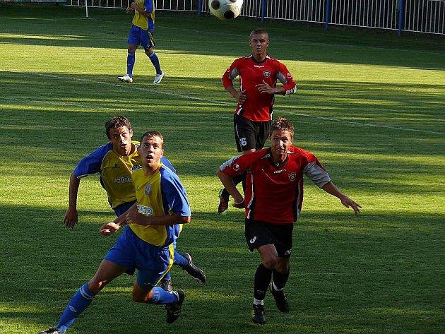 Fotbalisté Břeclavi v přípravě podlehli rezervě Spartaku Trnava.