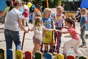 Hustopeče bojují v soutěži o hlasy, aby mohly mít dětské hřiště s motivem Rákosníčka.