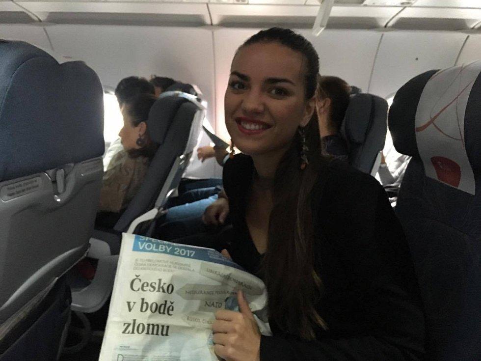 Do České republiky se nakvap vrátila odvolit například Michaela Listová z Křepic na Břeclavsku.