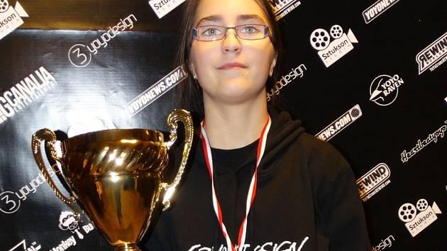 Yoyerka Veronika Kamenská z Břeclavi je evropskou mistryní.
