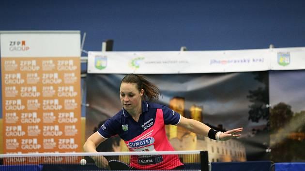 Dana Čechová vybojovala v prvním čtvrtfinále důležitý třetí bod.