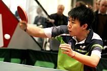 Pětadvacetiletý Bai-he, slovenský reprezentant čínského původu.