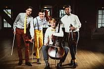 Husakovo Quarteto tvoří zleva Martin Husák, Radek Blahuš Matěj Kovanda a Marek Vejpustek.