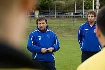 Fotbalisté Velkých Hostěrádek si užili odpoledne s trenéry Zbrojovky Brno.