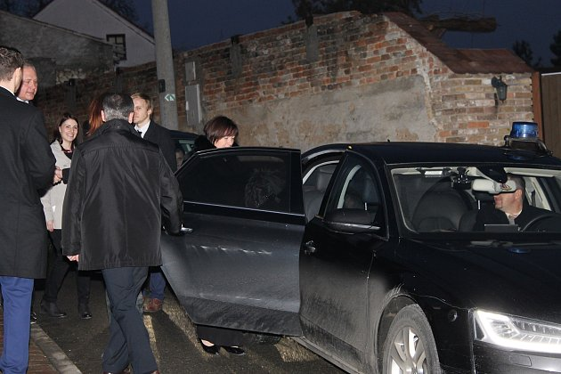 Manželka prezidenta Ivana Zemanová navštívila Valtické podzemí.